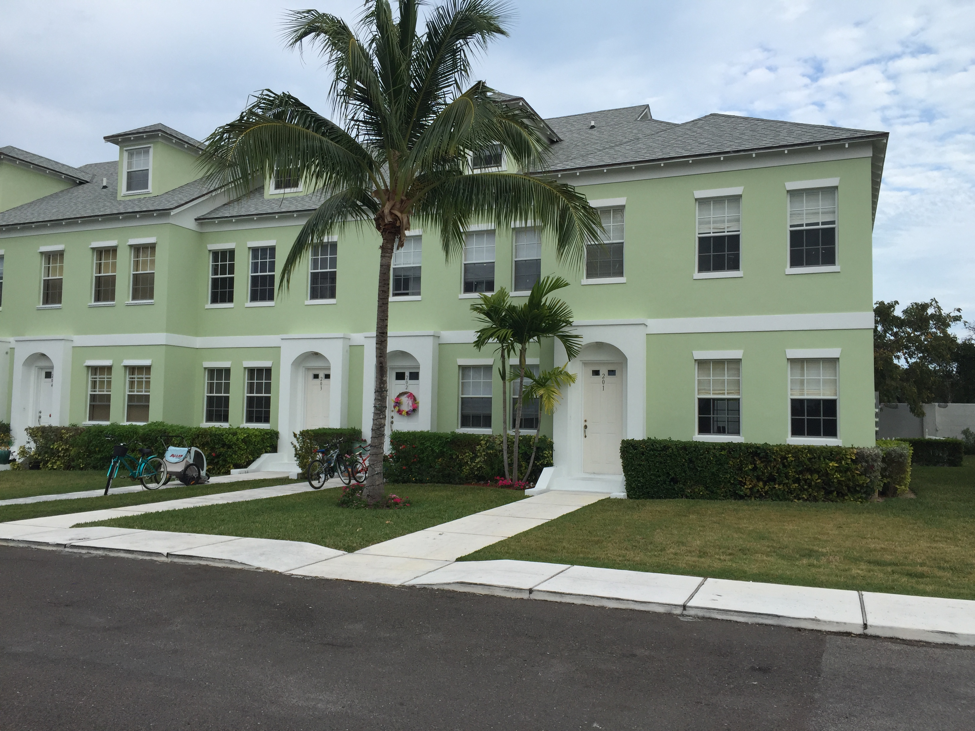 the garden townhomes, palm cay