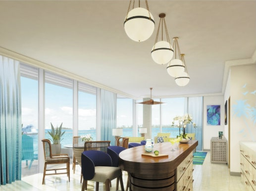 interior, the pointe luxury condominium